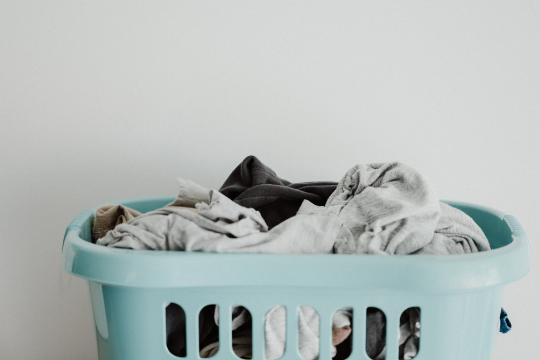 TruEarth Laundry Strips helps keep the laundry mountain manageable!